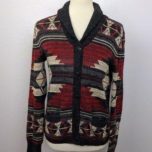 Ralph Lauren Southwestern Rustic Caridgan Sweater